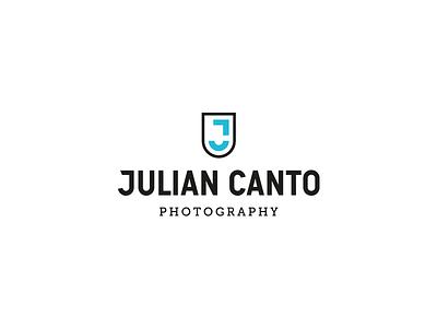 Julian Canto Photography logo photography bremen hamburg emblem typography monogram