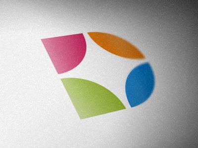 """D"" Monogram alex wende d monogram symbol logo spark circles alexander wende alexwende logodesign"