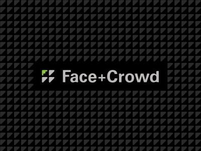 Face+Crowd branding triangle alex wende alexwende monogram agency advertising design symbol advertising agency crowd face typography alexander wende logodesign art direction