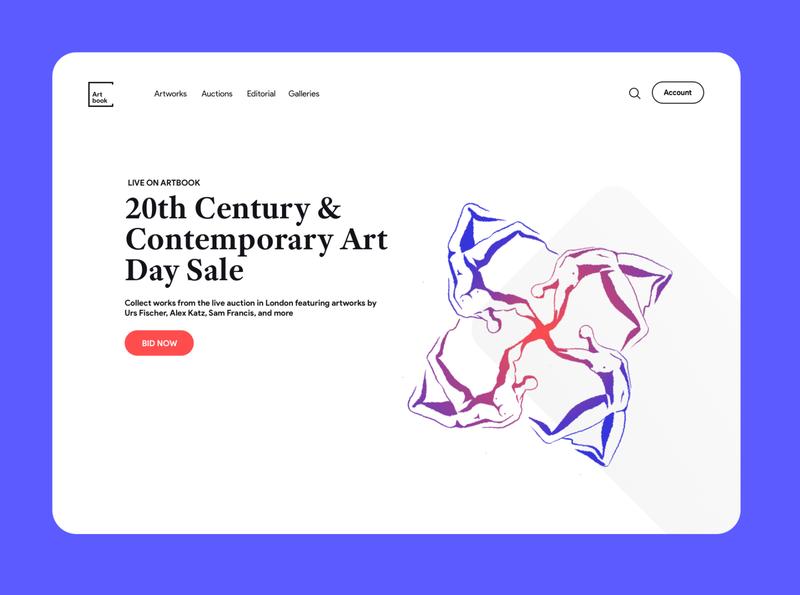Art Gallery ui  ux uidesign heroes art ux landing web website ui illustration iran illustrator