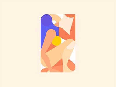 Nude Study 4 procreate persian iran female feminist body girl nude illustration illustrator