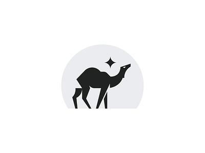 Camelo logo design illustrator branding animal iranian iran persian black desert logodesign camel icon logo design