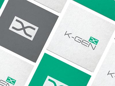 K-GEN branding iranian persian lab medical dna icon visual identity iran logo design logo