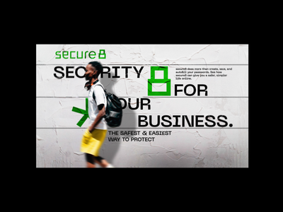secure8 - advertisement design iranian password advertising safe persian layout grid green wall poster secure security logo visual identity branding poster graphic
