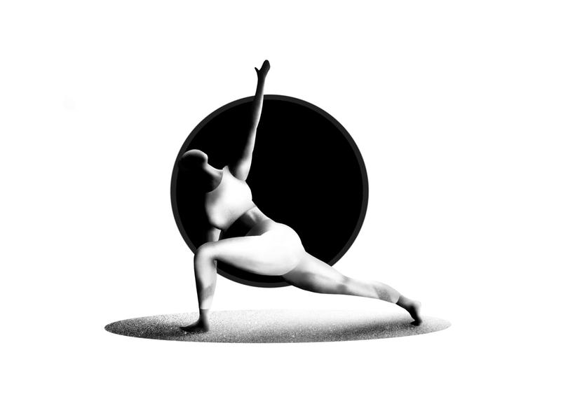 yoga girl! procreate yoga design ballet character apple pencil iran ipad pro illustrator illustration