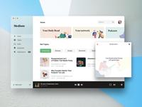 Medium Desktop App