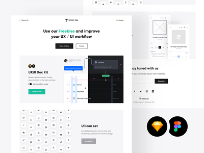 Tetrisly - Freebies page download figma sketch pack icon set icons free mockups mockup kit ui ui kit freebies freebie