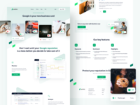Sentinic - Features Page saas landing page chart uidesign analytics website design webdesign product page page branding illustration design landing page app ux ui