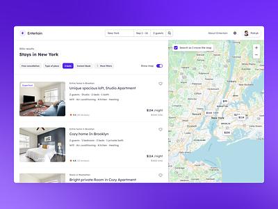 Property listing - XeTheme - Get! ui kit user interface navigation marketplace listing desktop hotels hotel dashboard book booking apartments ux ui