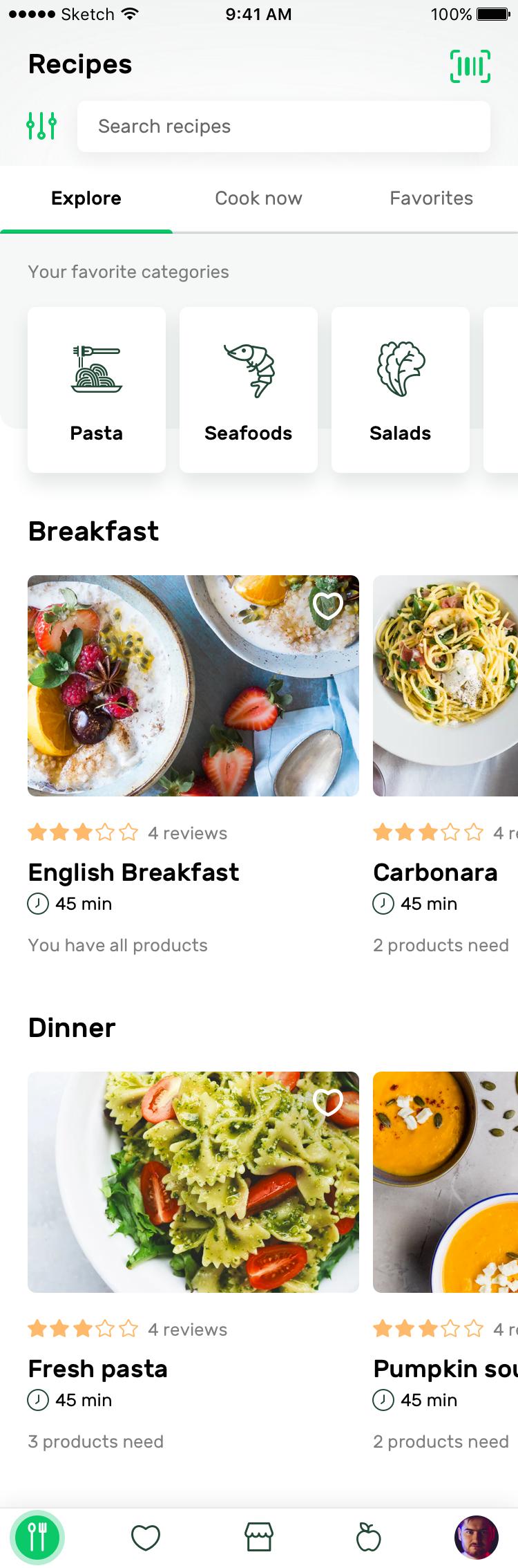 Recipes explore 2x