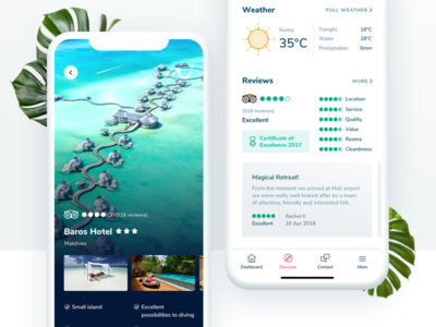 TUI Holiday - Concept App - Hotel Details