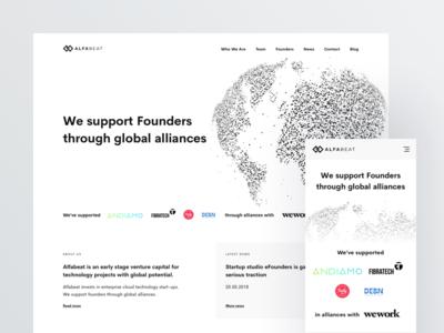 Alfabeat - Homepage