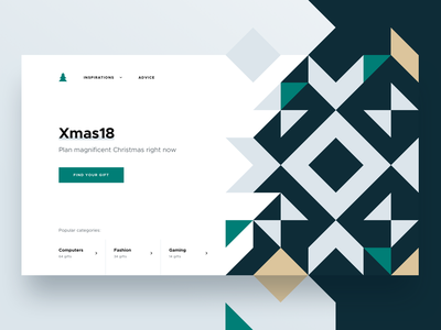 🎄Xmas18 gifts - Top gifts gift xmas christmas minimalism minimal clean illustration modern ui