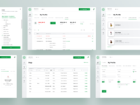 Subpages dribbble
