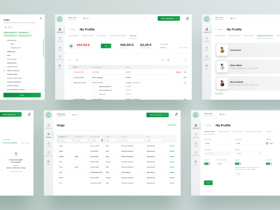 🐶 Dogs - Subpages - Dashboard