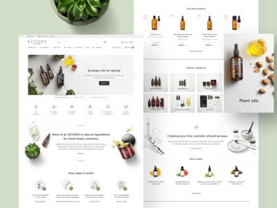🌿 Ecospa - Homepage