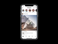 Instagram AR - The Look Around feature
