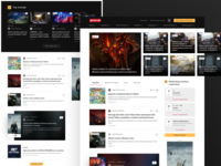 Video game magazine - Homepage