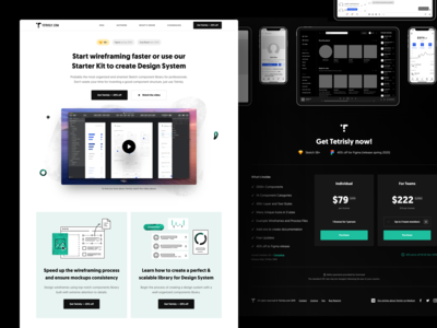 Tetrisly.com - Landing Page
