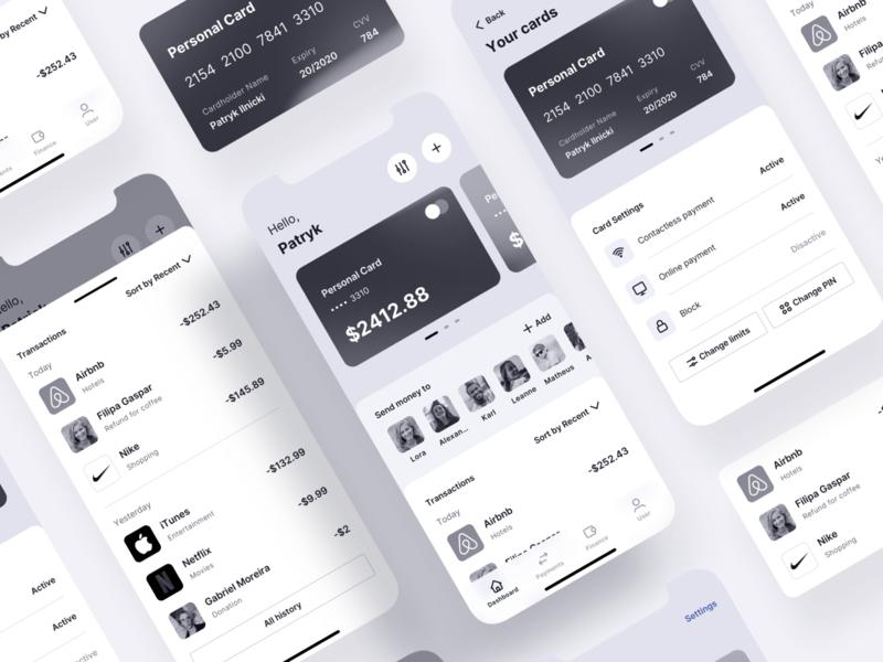Mobile Banking App - Tetrisly