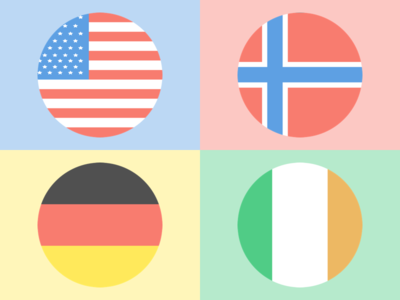 Icon Set // Flags of the World