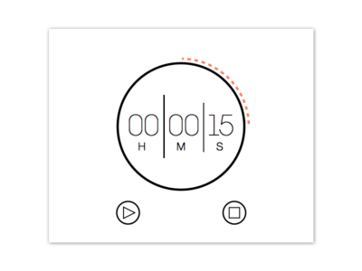 Daily UI // 014 Countdown Timer