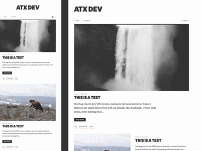 Blog Redesign // V3 [Mobile / Desktop]