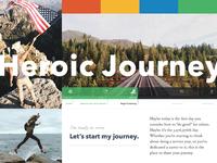Heroic Journey Moodboard