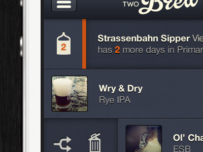 One Two Brew - Home beer app iphone