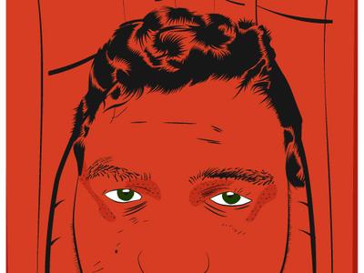 Monk ui vector illustration