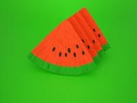 origami fruits - watermelon