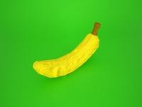 origami fruits - banana