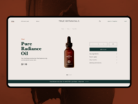 Skincare - Product breadcrumbs minimalistic modern geometric add to cart luxury design luxury brand product page design ui ux web design elegant simple minimal clean uiux product page