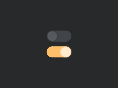 Daily UI #015 - on/off switch illustration night day light switch onoff daily ui challenge challenge graphic design daily ui