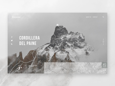 Daily UI #029 - Map weather ui ux website landing landing page topographic map topography map design road discover travel blog travel mountain maps map 029 daily ui challenge daily ui challenge