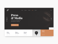 Daily UI Challenge #051 - Press Page