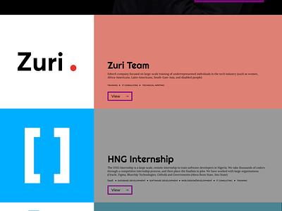 Seyi's Landing Page landing page design minimal ui dark