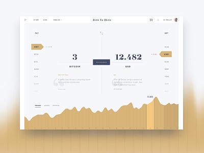 Zero To Hero data numbers infographic graphics usd exchange money blockchain