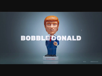 Bobble Donald - gif maker of the donald