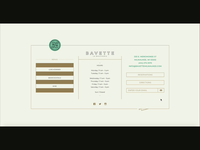 Bavette La Boucherie UI interactive