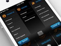 Mobile Site - Menu