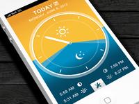 Simple Daylight App