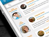 iPhone App - Reviews