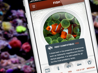 Fish Reference Guide - iPhone App Pop-Up