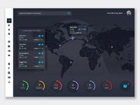 Business Travel Dashboard / Dark Mode