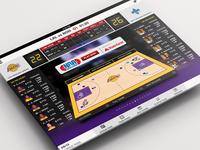 Live Basketball iPad App