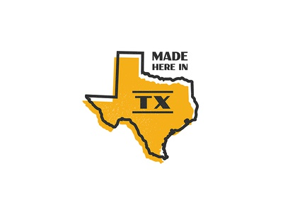Made in Texas badge