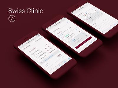Swiss Clinic Checkout