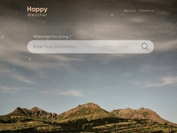 Happy Weather Layout Design