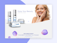 RealSkinLabs Landing Page